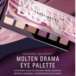 Bobbi Brown Molten Drama Eye shadow Palette in Box
